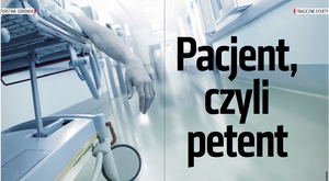 Pacjent, czyli petent