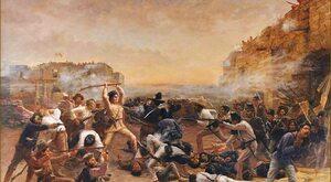 Polacy w Alamo. Powstańcy listopadowi w jednej z najsłynniejszych bitew...
